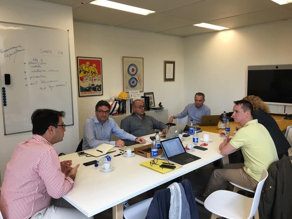 Les membres du bureau de notre Association se sont réunis à Stras