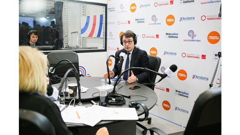 Interview Alexandre Mora salon des Maires 2019